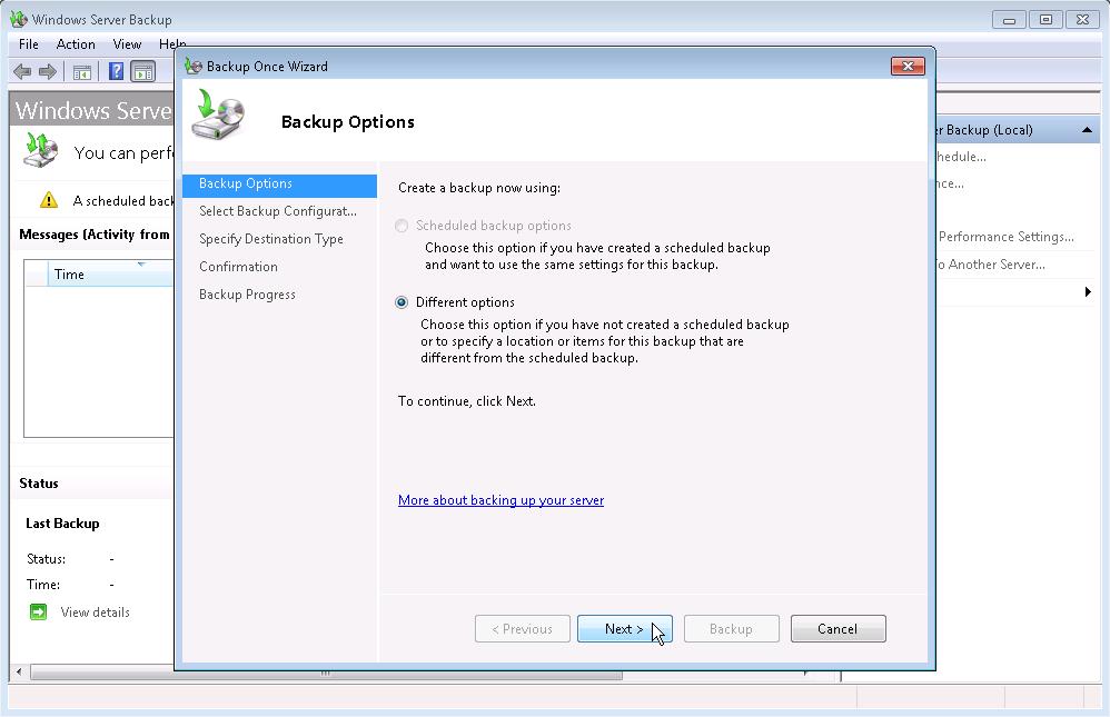 Virtual Machine Backup   IgNiTeD SoUL